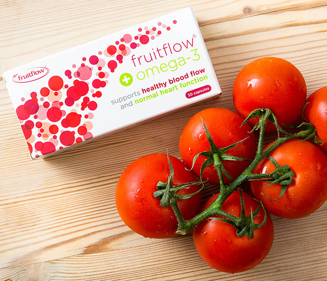 Fruitflow+ Omega 3 to support cardiovascular health